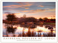 Daybreak, Boulder Mountain Lodge