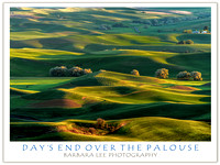 Day's End Over the Palouse