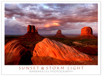 Sunset and Storm Light