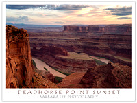 Deadhorse Point Sunset