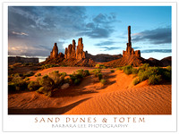 Sand Dunes and Totem