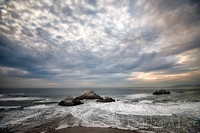 Incoming Tide, Land's End, San Francisco