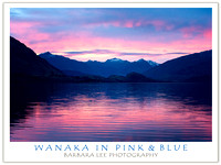Wanaka in Pink and Blue