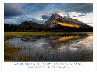 Mt. Rundle & Vermillion Lakes, Banff