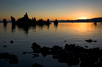 Daybreak at Mono Lake - August, 2008