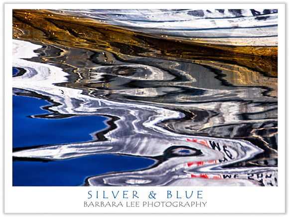 Silver and Blue