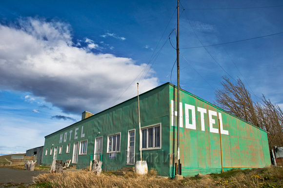 Highway 40 Abandoned Hotel