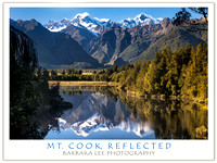 Mt. Cook, Reflected